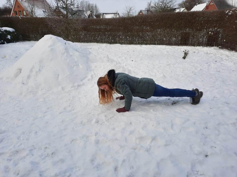 Schnee-Challenge: Sportunterricht im Schnee