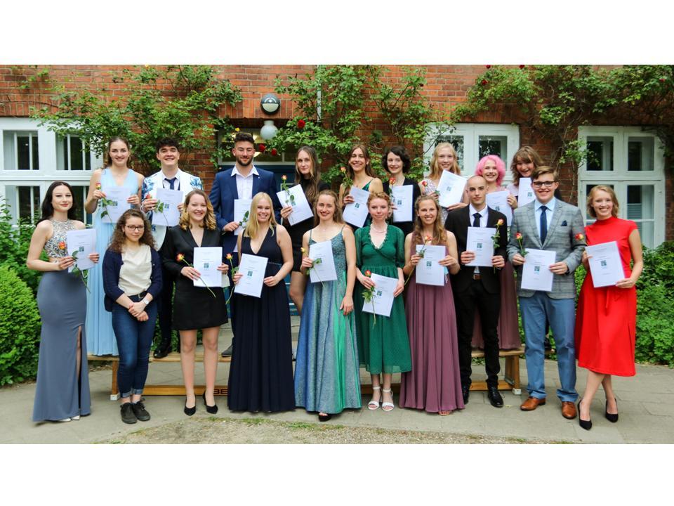 Herzlichen Glückwunsch zum bestandenen Abitur!